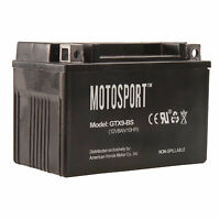 Motosport Maintenance-Free Battery with Acid GTX9BS for Arctic Cat ATVs