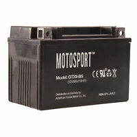 Motosport Maintenance-Free Battery with Acid GTX9BS for KYMCO ATVs