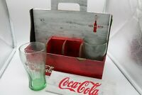 125th Anniversary Coca Cola Canadian Employee Gift Pack, incomplete 4 glass only