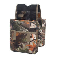 Universal ATV Tank Saddle Bags Luggage Storage Organizer Saddlebag CAMO