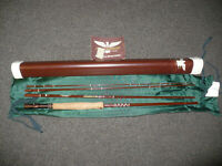 Brand New FENWICK FF756-4 6WT 4PC (VOYAGER) FLY ROD w/Case, Bag, etc.