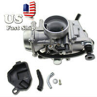 USA 32mm Universal Round Slide Carburetor For 250 300CC Scooter Motorcycle ATV