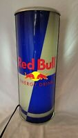 RED BULL Energy Drink Wall Light Up Can Advertising Sign Bar Display Man Cave