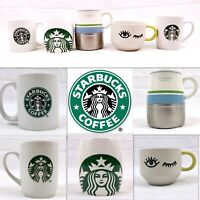 Starbucks Coffee Mug Cup LOT of 5 LIMITED EDITION Wink Thermos Mermaid Wide Blue
