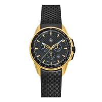Mercedes Benz Chronograph Men´s Motorsport Gold Edition from Germany Brand New