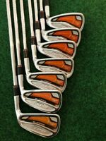 Cobra AMP Forged Irons, 4-PW, KBS Shafts Tour Stiff+, Right Handed