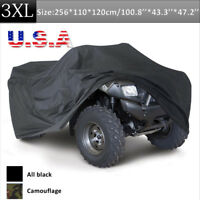 Waterproof Polyester ATV Quad Bike Cover For Honda Rancher 350 400 420 2x4 4x4