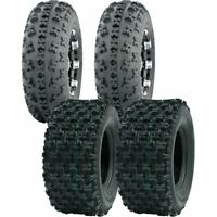 21X7-10, 20X10-9 OCELOT ATV TIRES (SET OF 4) HONDA TRX 250R 250X 250EX TRX450ER