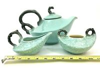 Hull Pottery Tea Pot Sugar Bowl Creamer set W26 W27 W28 Vintage Replacements
