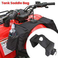 Universal Motorcycle ATV Luggage Fuel Tank Waterproof Storage Saddle Side Bag