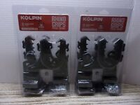 Kolpin Rhino Grip Gun Holder Fishing Rod Bow Rack ATV Utility Rest Mount (2 SET)