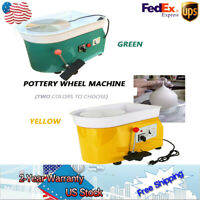 Pottery Wheel Pottery Making Machine 110V 25cm China Work Ceramic Clay Qualified
