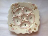 Antique Square Oyster Plate Antique Oyster Plate C.1800's, op79