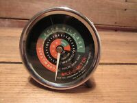 Rare Vintage Bat-O-Meter Gauge By Gale Hall Engineering Inc.