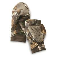 NWT UNDER ARMOUR WOMEN'S STORM STEALTH HUNTING MITTENS REALTREE CAMO S M L $50