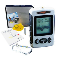 Fish Finder Wireless Locator 120m (400ft) Display Monitor with Water Temperature