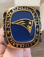 NFL New England Patriots Balfour Collectible Large Paperweight Ring W/ Box