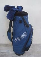 Ping Frontier Blue Staff Golf Cart Bag 6 Dividers
