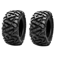 Tusk TriloBite HD 8-Ply Pair of Tires 25x10-12 for Suzuki LT300 KING QUAD 1990-2