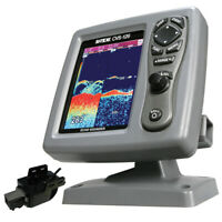 SI-TEX CVS-126 Dual Frequency Color Echo Sounder w/Transom Mount Triducer 250...