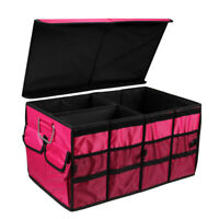 Large Car storage box  covered Collapsible  Trunk Bag Tool Multipurpose