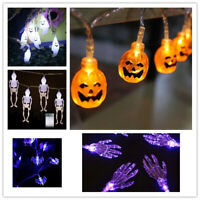 20 LED Halloween String Lights Fairy Light Outdoor Garden Party Home Decor 9.8ft
