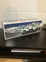 Hess 2002 Toy 18 Wheeler Truck and Airplane Brand New in Box NEVER OPENED