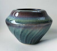 Bill Campbell Pottery Bowl Vase Planter Jardiniere Signed