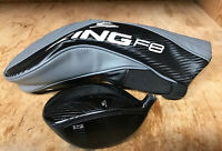 Preowned King Cobra F8 BLACK Driver HEAD ONLY w/Headcover NICE!!!