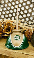 Quaker State Oil Can Vintage Gas Can Gasoline Station Oil Can Thumb Oiler Pump