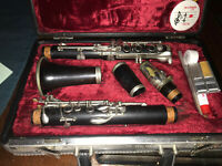 Buffet Crampon R13 Professional Bb Clarinet with 17 Silver Plated Keys.