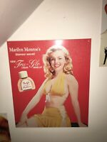 Marilyn Monroe Tru-Glo Metal Sign
