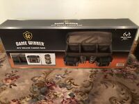*NEW* Game Winner ATV Deluxe Cargo Bag w/Dividers, Bottle Carriers RealTree Camo