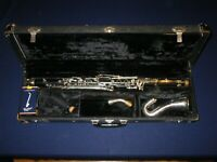 SELMER BUNDY Eb ALTO CLARINET + YAMAHA MOUTHPIECE - in good playing condition
