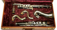 Buffet-Crampon Bass Clarinet (low-Eb)- circa-1936-Increcdible Player-Overhaulled