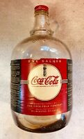 Vintage 1935 Gallon Coca-Cola syrup bottle with correct metal screw cap, NICE!
