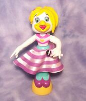 """WORKING Chuck E Cheese HELEN HENNY Light Up Spinner Spinning Figure Toy 10"""" CEC"""