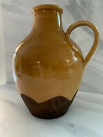 New $90 SUR LA TABLE Large Pottery Vase Pitcher Jug Made in Italy
