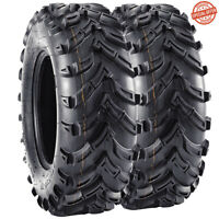 VANACC Bear Claw 25x8-12  ATV Front 2 Pack Tires 6PLY Construction 25x8x12