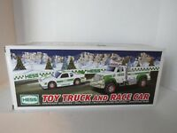HESS 2011 Toy Truck and Race Car In Original Box New