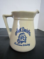 2 Qt. Jack Daniels Pitcher No 7 Tennessee Whiskey Vintage New With Original Box