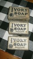 Vintage Ivory Soap by Procter amp; Gamble Ivory Flakes New Unused 3 Bars