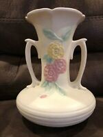 Hull Pottery Mid 1940's - Open Rose - Camelia 8 1/2