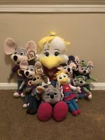 Chuck E. Cheese Huge Plush Lot Limited Edition