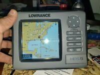 Lowrance HDS 5 Gen 1 Non Touch Fishfinder GPS Transducer and power cable