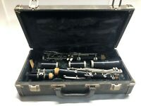 Vintage Bundy Selmer Resonite Clarinet With Hard Carry Case