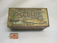 Tin Box. Russia 19th century.