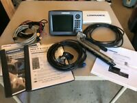 Lowrance HDS 7 Gen 2 with Structure Scan and two transducers - non touch
