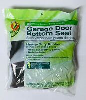 universal garage door rubber weather threshold seal bottom seal 9 Foot with nail $9.99