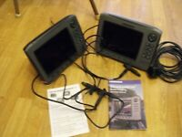 Bundle of Lowrance HDS 8 GEN1 and HDS 8 GEN2 with LSSI, transducers, cables